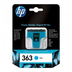 HP 363 C 4 ml cyan/blå...