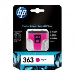 HP 363 m 4 ml magenta/rød...