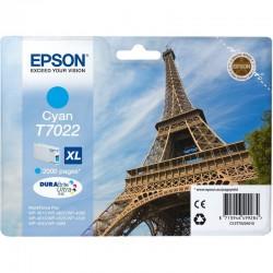 Epson T7022 Cyan original blæk