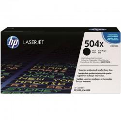 HP 504x CE250a sort 10.500...