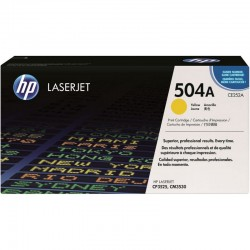 HP 504a CE252a gul 7.000...