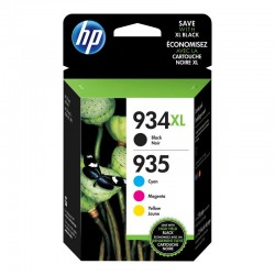 HP 934XL/935XL Sort Gul...